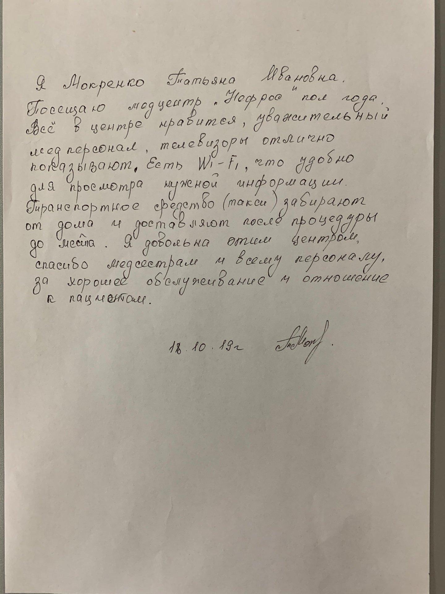 Мокренко Т.В