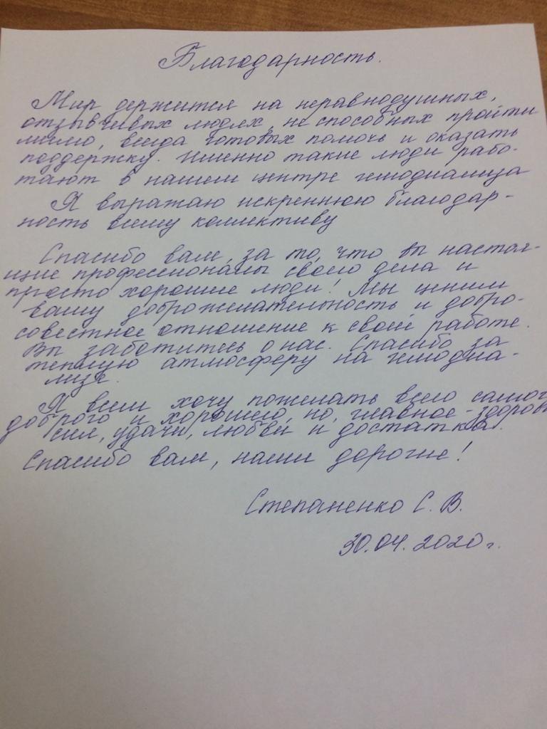 Степаненко С.В