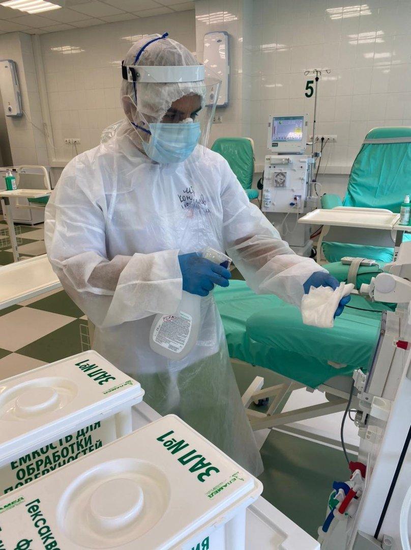 Работа отделения в пандемию